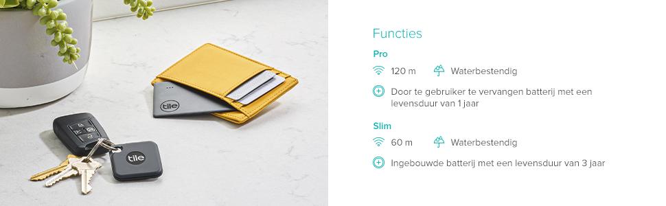 Water-resistant, waterproof, replaceable battery, Bluetooth range