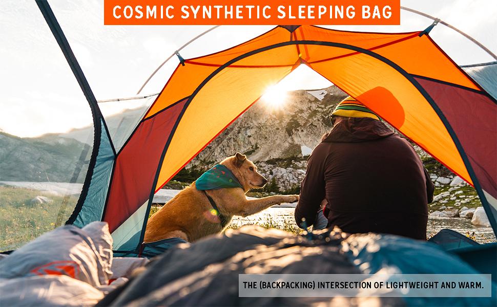 kelty lifestyle cosmic synthetic sleeping bag