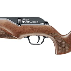 Walther, Umarex, UX, Maximathor, air rifle, pellet rifle, PCP, wood, 8 rounds, air tank, quick fill