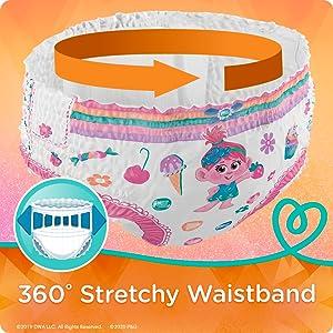 360° Stretchy Waistband