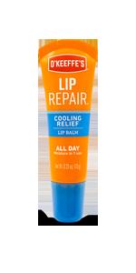 O'Keeffe's Lip Repair Cooling Relief Lip Balm Tube