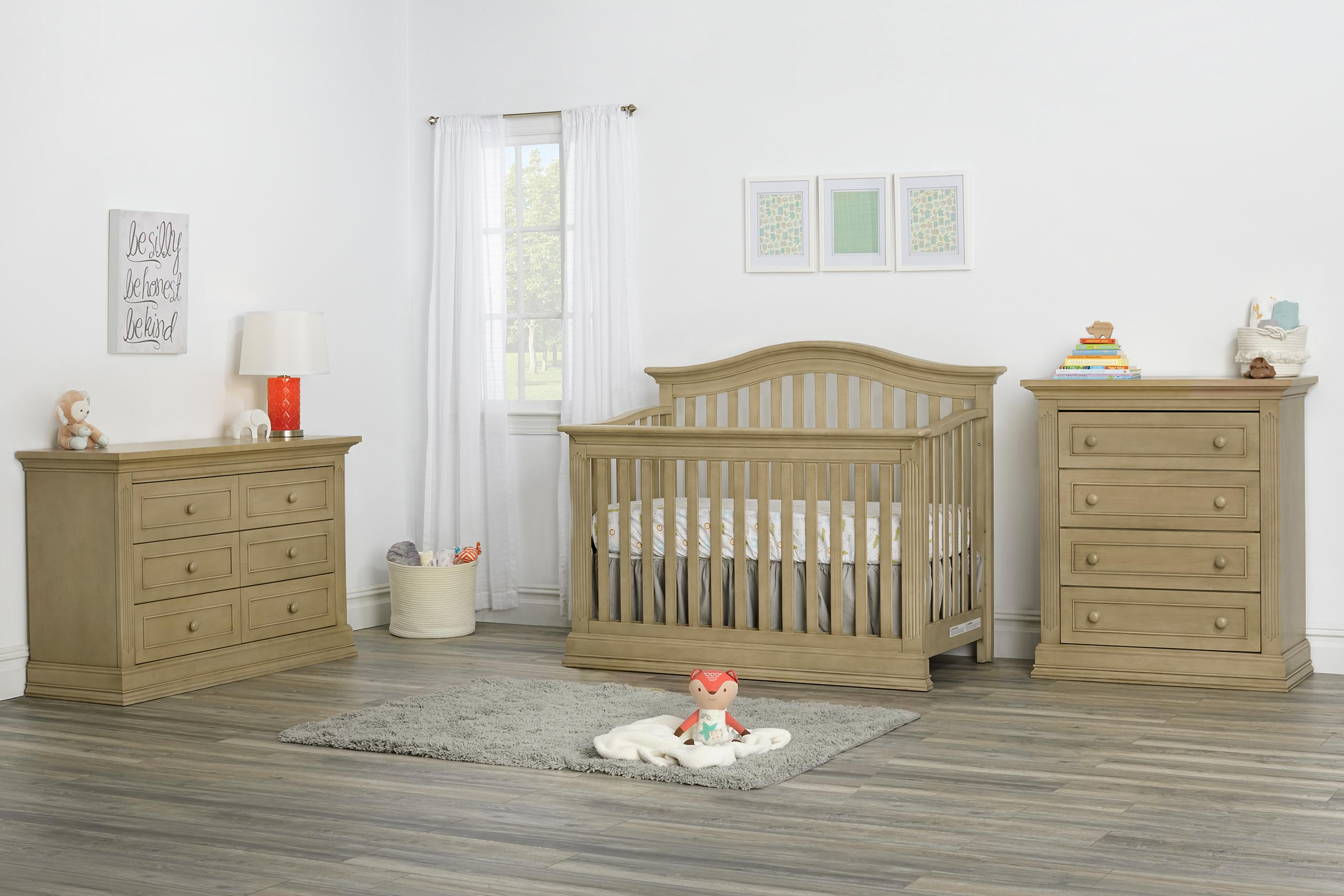 oyster drawers fb ow convertible furniture in crib nursery baby silo cribs with white ozlo glnbk glenbrook