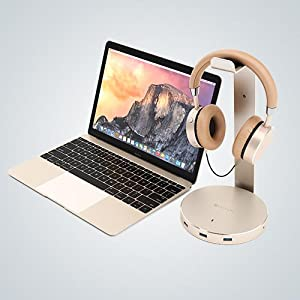 Amazon.com: Satechi Aluminum USB Headphone Stand Holder