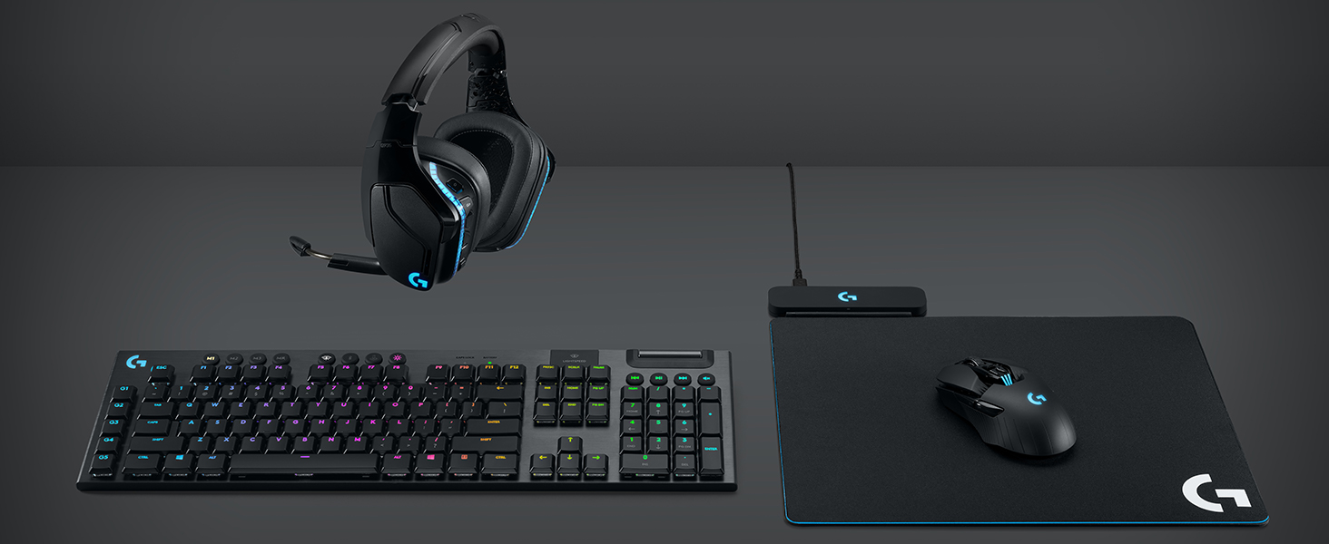 Amazon Com Logitech G915 Wireless Mechanical Gaming Keyboard Clicky Black Computers Accessories