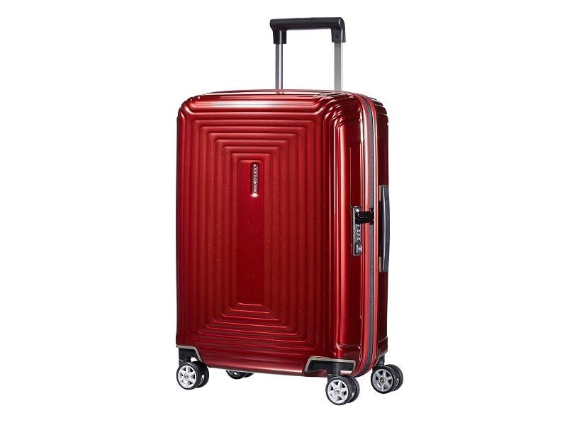 samsonite; neopulse; maleta; spinner; maleta de 4 ruedas; fabricada en europa; equipaje ligera