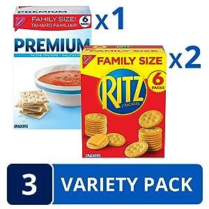 RITZ Premium Cracker Variety Pack