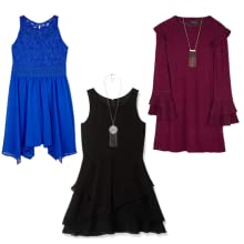 Knit and Woven Dresses