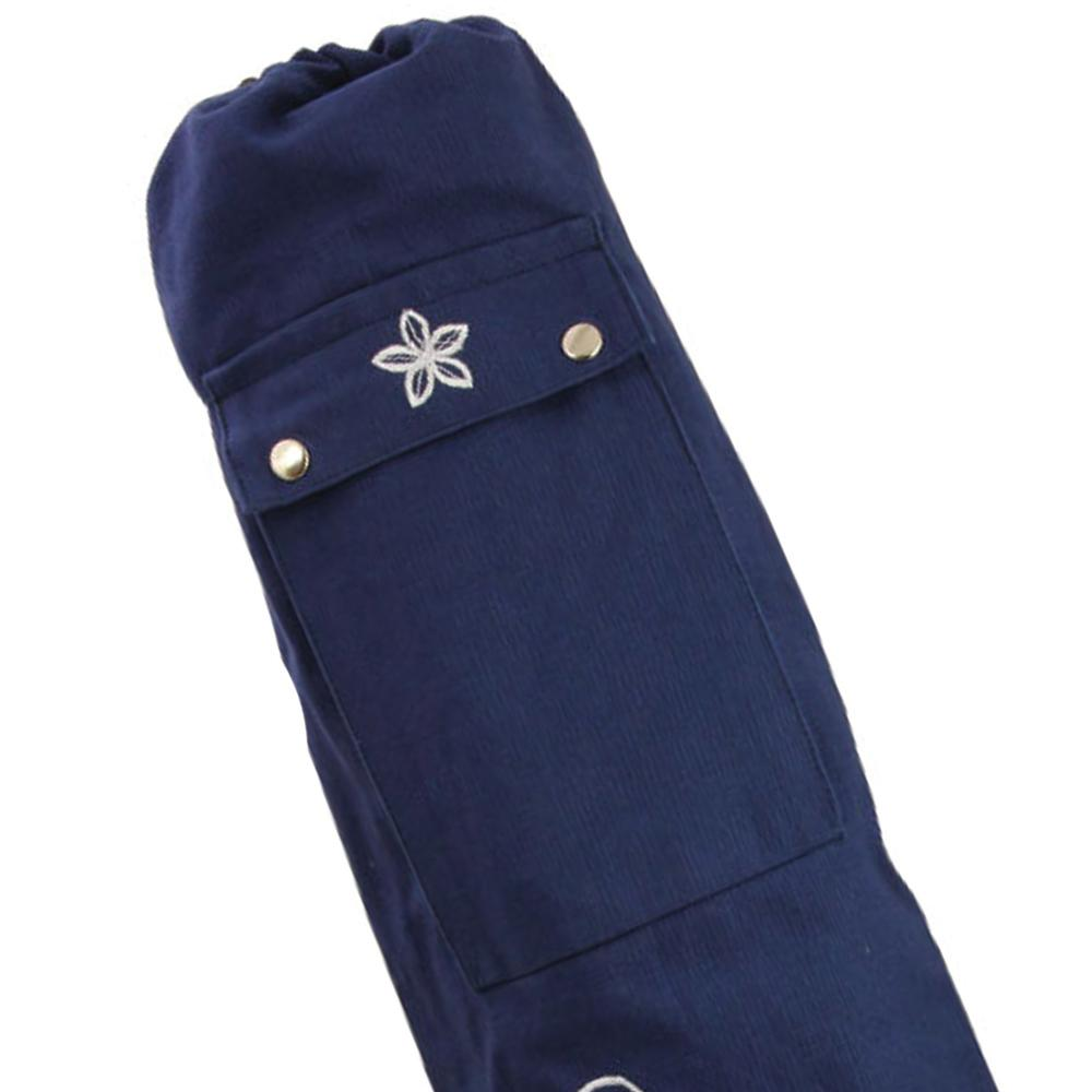 Yoga-Mad 63cm X 14.5cm Women's Wildflower Yoga Mat Bag