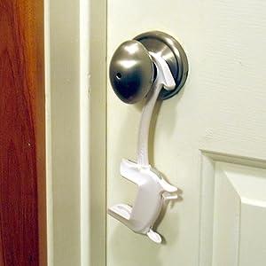 Child proof safety door lock for lever handles and door knob cover baby chidproof babyproof kids
