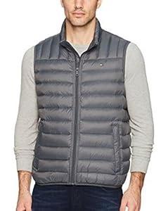 Tommy Hilfiger Men's Down Quilted Puffer Vest at Amazon Men's ... : tommy hilfiger quilted vest - Adamdwight.com