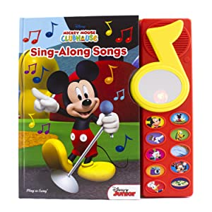 sound,book,toy,toys,pi,kids,p,i,phoenix,international,publications,song,music,mickey,mouse,minnie