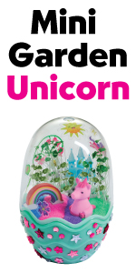 Unicorn, garden for kids, girls craft, gift for girls, crafting, mini garden, terrarium