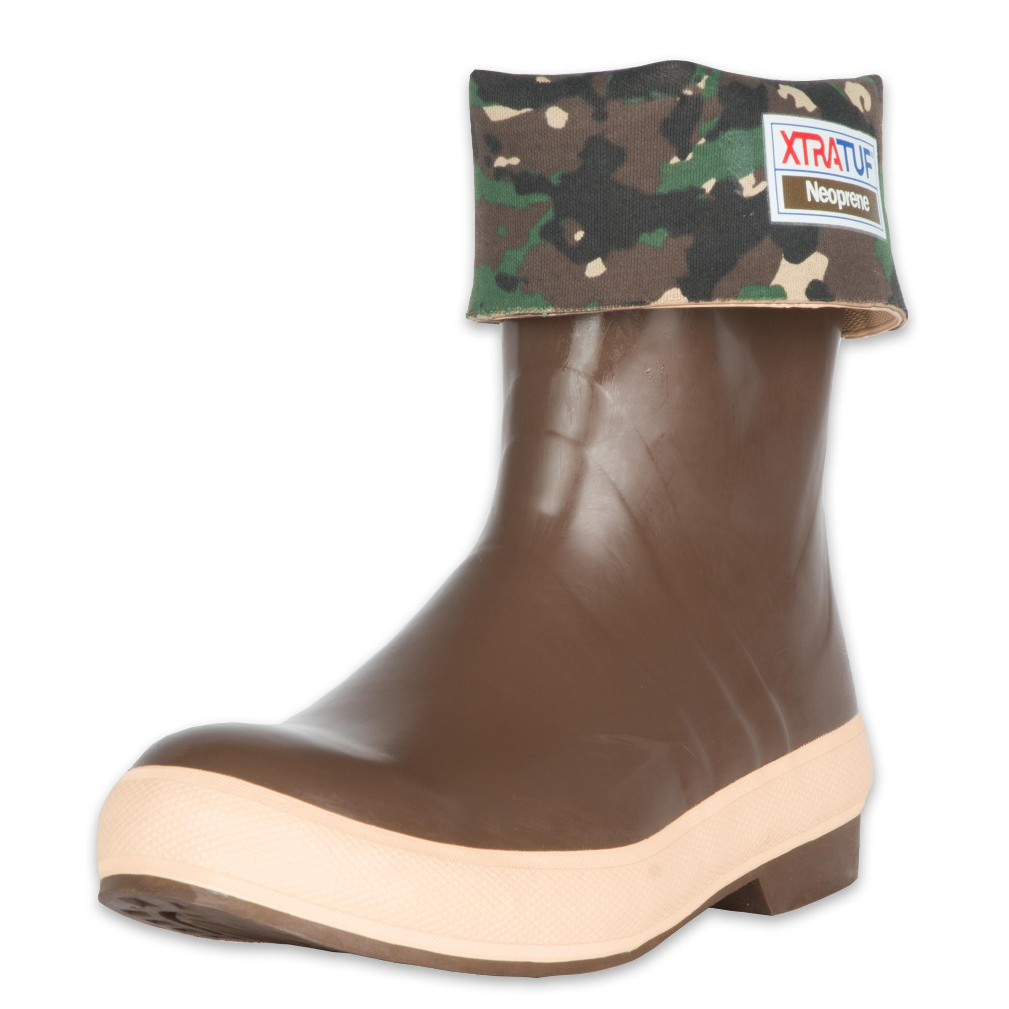 Xtratuf legacy series 12 camo lined neoprene men 39 s for Commercial fishing boots