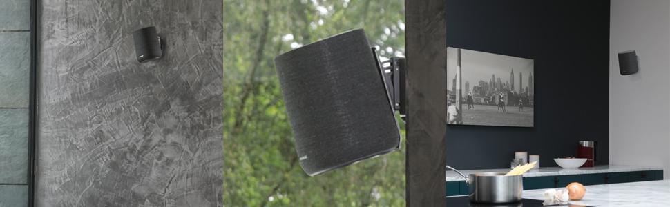 Soundxtra Wandhalterung Für Harman Kardon Citation One Schwarz Heimkino Tv Video