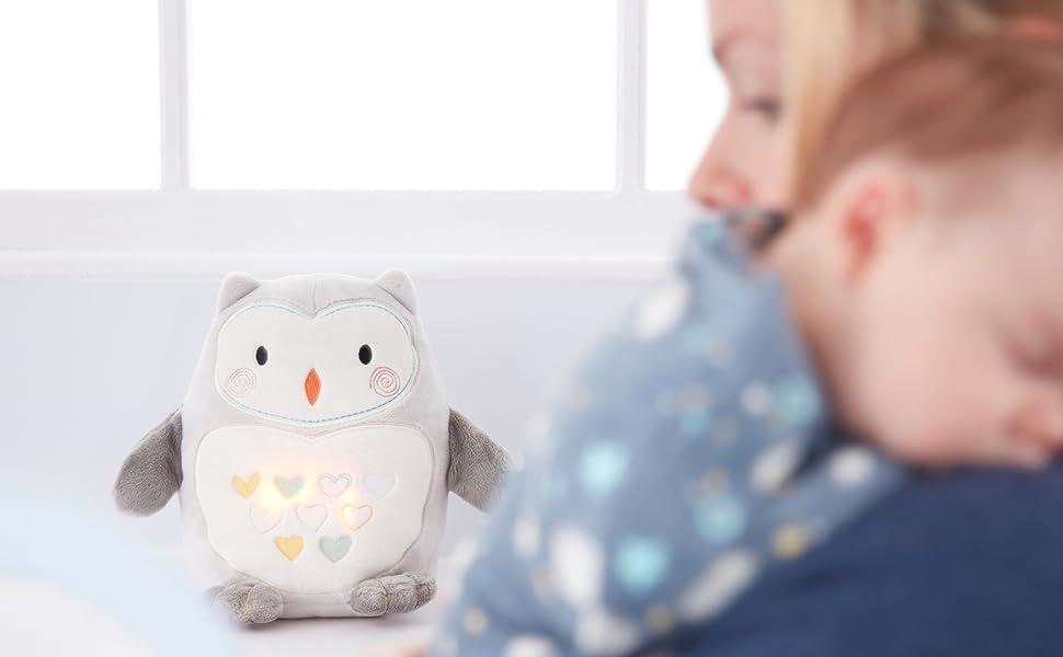 ollie the owl, light and sound, sleep aid