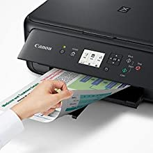 Canon TS5120 Wireless All-In-One Printer with Scanner and Copier: Mobile and Tablet Printing, with Airprint(TM) and Google Cloud Print compatible, ...