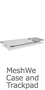 Meshwe; bluefin; bluetooth; keyboard; trackpad; magic; touchpad; case;