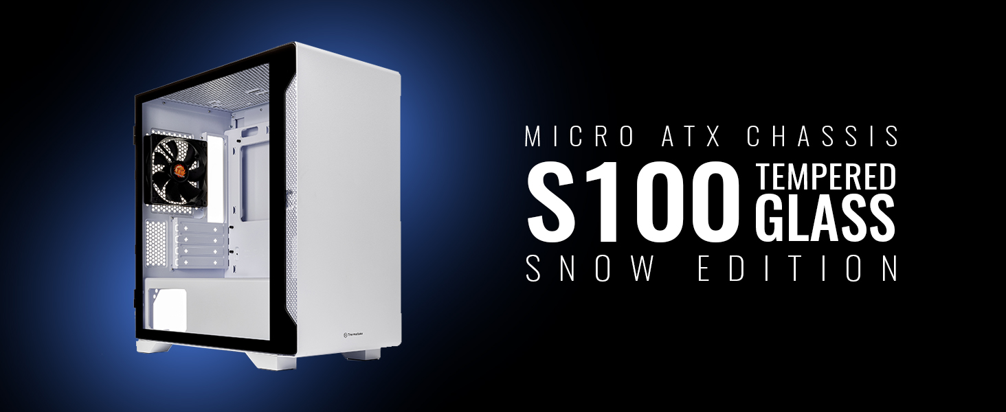 Thermaltake S100 Snow mini Tower Case