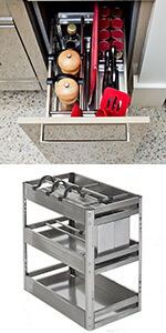 Chef Kitchen Pull-Out 300mm cupboard