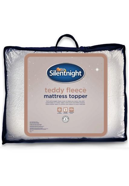 silentnight air max dual layer 5cm mattress topper