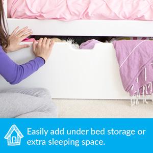 under bed storage drawers trundle