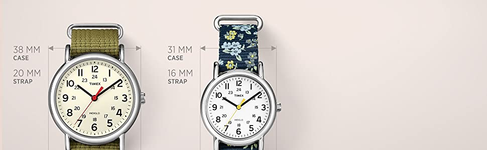 Timex Weekender Women's Collection 38mm and 31mm