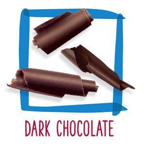 goodnessKNOWS dark chocolate bars are small bite-size snacks.