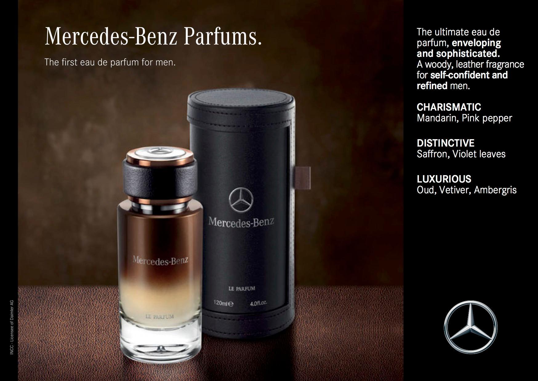mercedes benz le eau de parfum spray for men. Black Bedroom Furniture Sets. Home Design Ideas