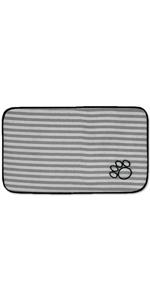 pet food mat,pet mat for food and water,absorbent pet mat,microfiber pet mat