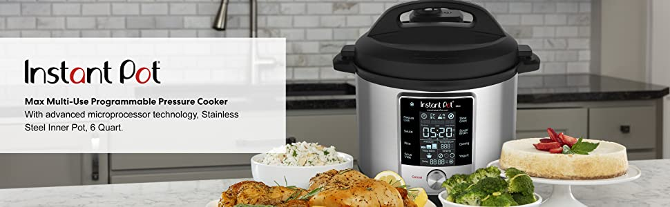Instant Pot Max Pressure Cooker 9 in 1