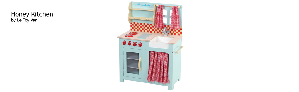 ltv, le, toy, van, wood, wooden, play, honeybake, toys, role, play, honey, kitchen, cook, bake, wash