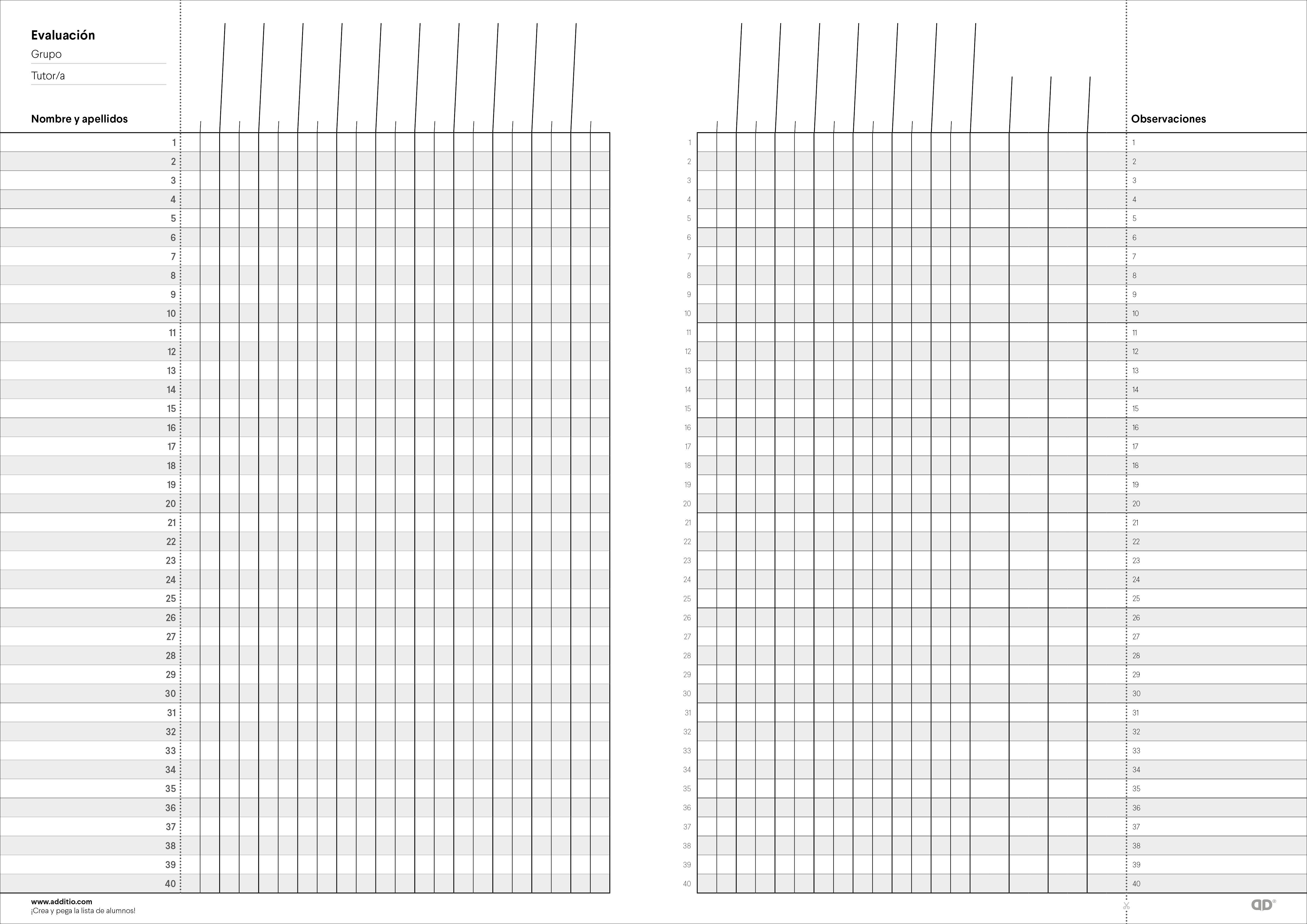 Additio P152, Cuaderno Memo-Notas, Colores surtidos, 1
