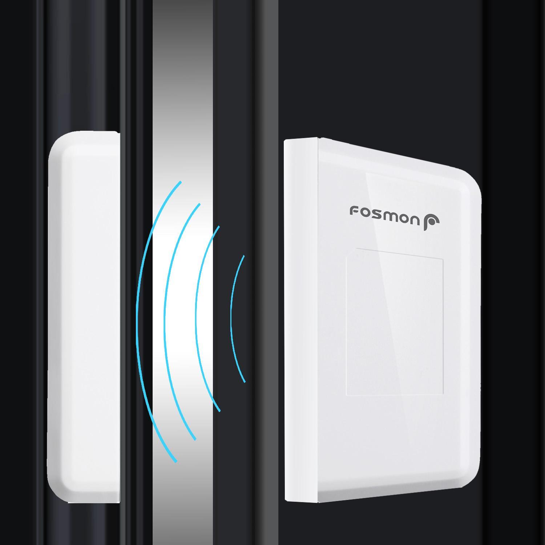 Fosmon wavelink 51004hom wireless door open for 1 by one door chime