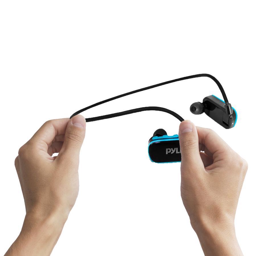Amazon.com: Pyle Flextreme Waterproof Sports Wearable MP3 Headset Music Player 8GB Underwater