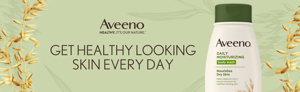 Get healthy looking skin every day Aveeno Fragrance-Free Daily Moisturizing Body Lotion with oat