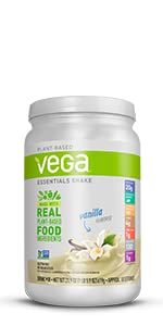 vega essentials, plant based protein powder
