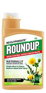 Roundup NL - Concentrado natural para control de malas hierbas