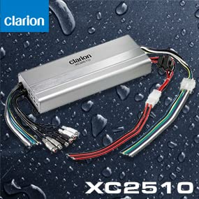 Clarion XC2510 700W Peak Ultra Compact 5//4//3 Channel XC Series Micro Class D Marine Amplifier Clarion Corporation of America