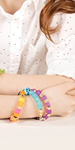 kit making beads jewelry beads bracelet kid girls adults letter pony craft seed glass necklace small