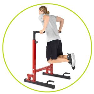 dip stand adjustable, dip station bars body press dip stand