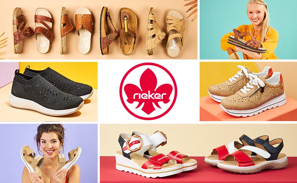 Rieker Chaussures anti-stress printemps été