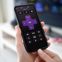 Roku TV mobile app