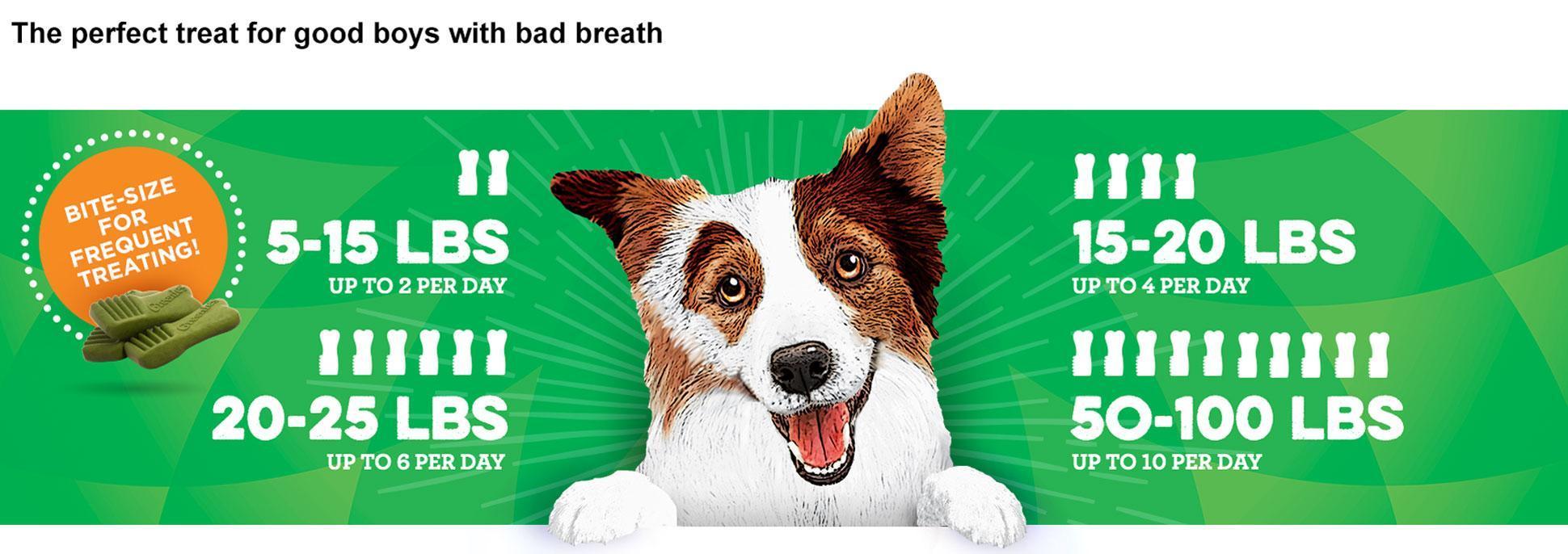 Breath Buster Dog Treats