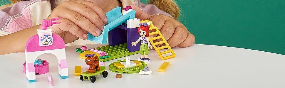 Amazon.com: LEGO Friends Puppy Playground 41396 Starter