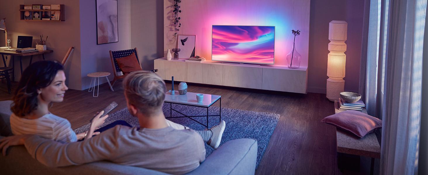 Philips, TP, Vision, TV, LED, 4K, UHD