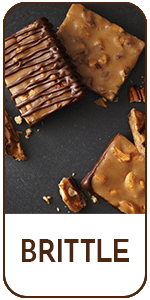 Chocolate Covered Pecan Brittle