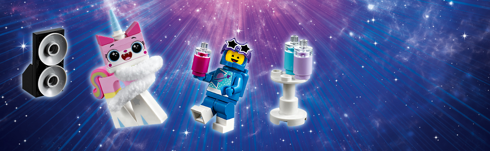 LEGO Movie 2 Systar Party Crew 70848 Stardust Benny Minifig Only