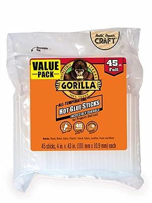 Gorilla Bâton de colle chaude 10,2 cm taille 45