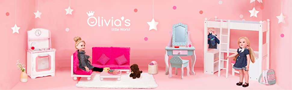 Baby doll olivia's little world Christmas gifts