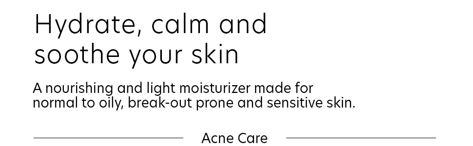 hydrating, hydrate, breakouts, acne, sensitive skin, acne breakout, blemishes, treatment